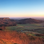 Sutton Bank, Sunset